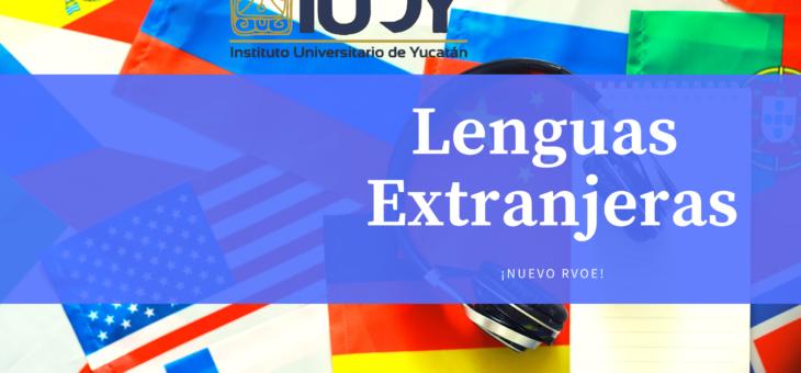 Licenciatura en Lenguas Extranjeras